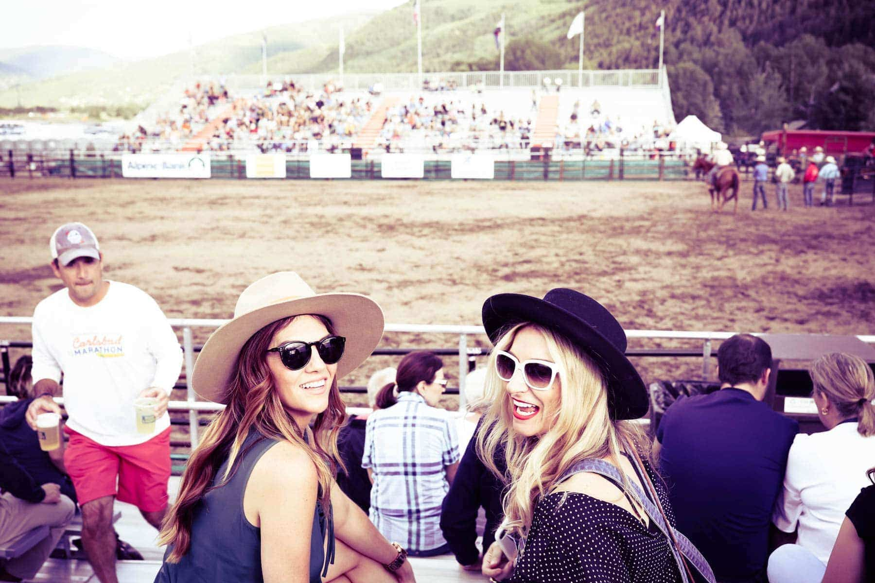 girls at beaver creek rodeo