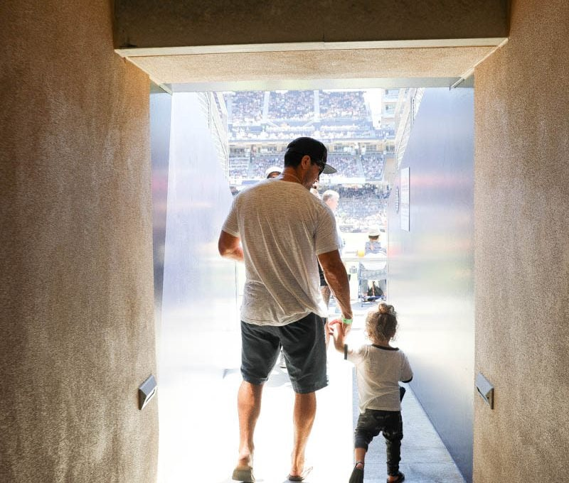 It's a Home Run With San Diego Padres Family Day