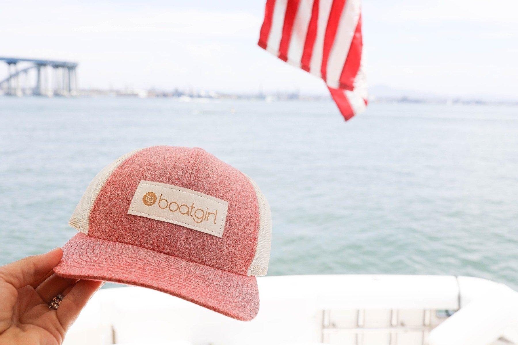 boat girl hat