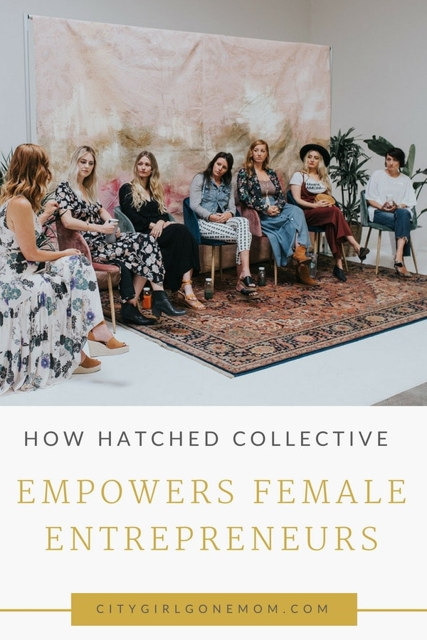 citygirlgonemom with hatched collective