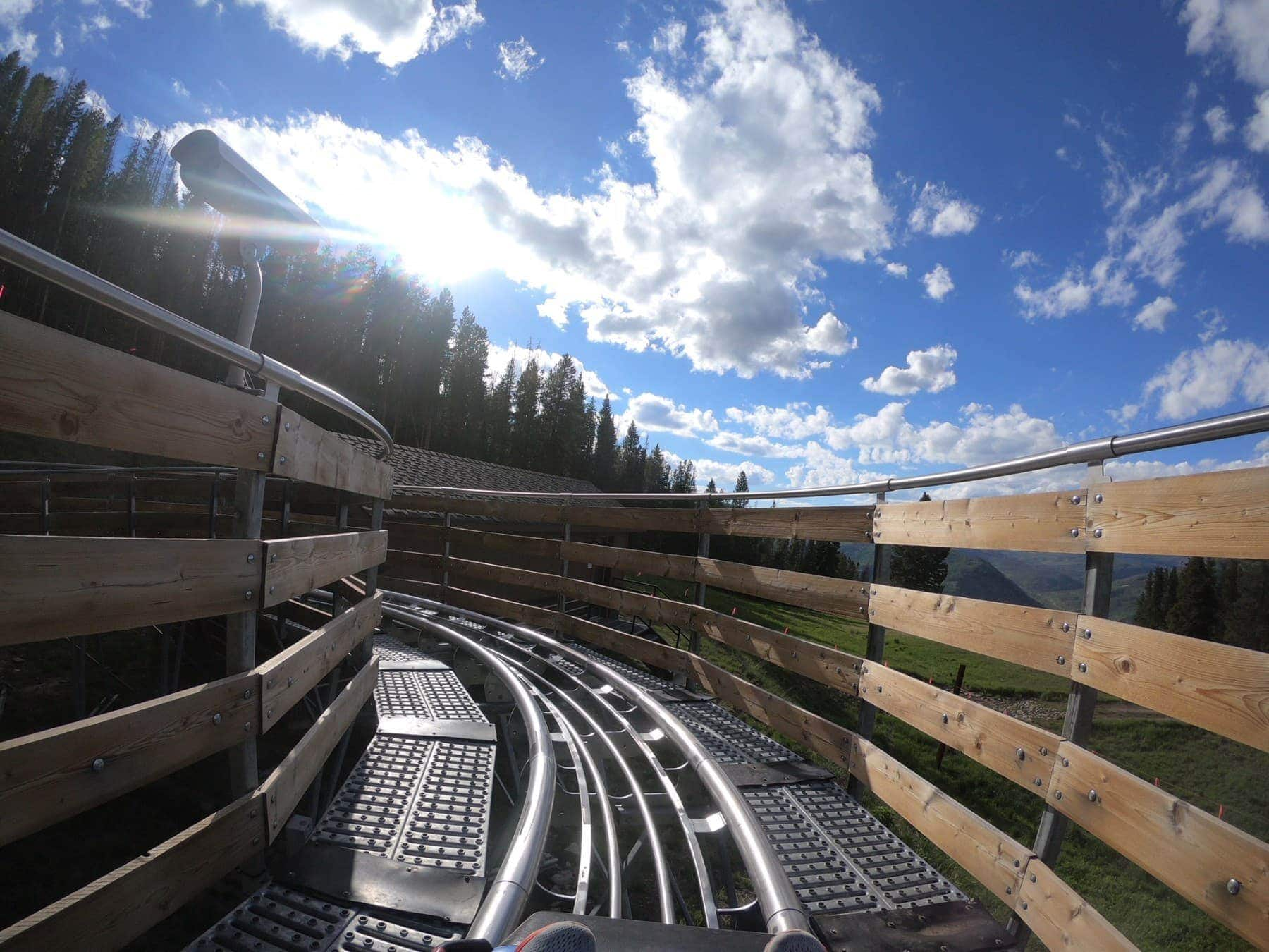 Alpine Coaster #summer #vailcolorado #vacation #citygirlgonemom