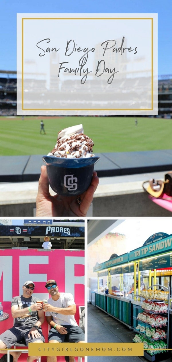 When it comes to traveling San Diego, Make Family Day at a Padres game part of your plans! Baseball has never been this good #baseball #sandiegopadres #travelinsandiego #padres #sandiego #citygirlgonemom #sandiegobaseball #sandiegostadium #petcopark