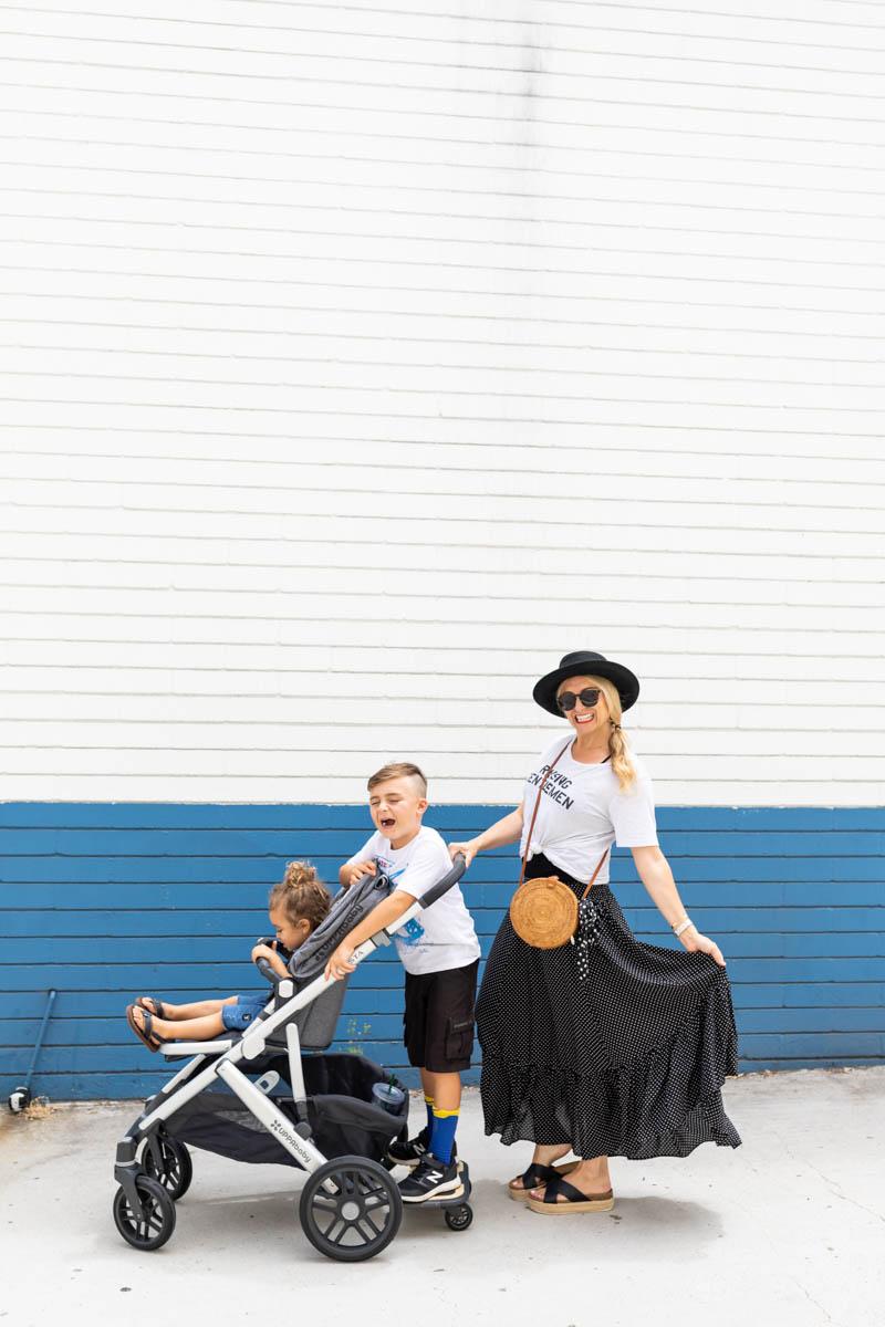 La Jolla Mom and kids