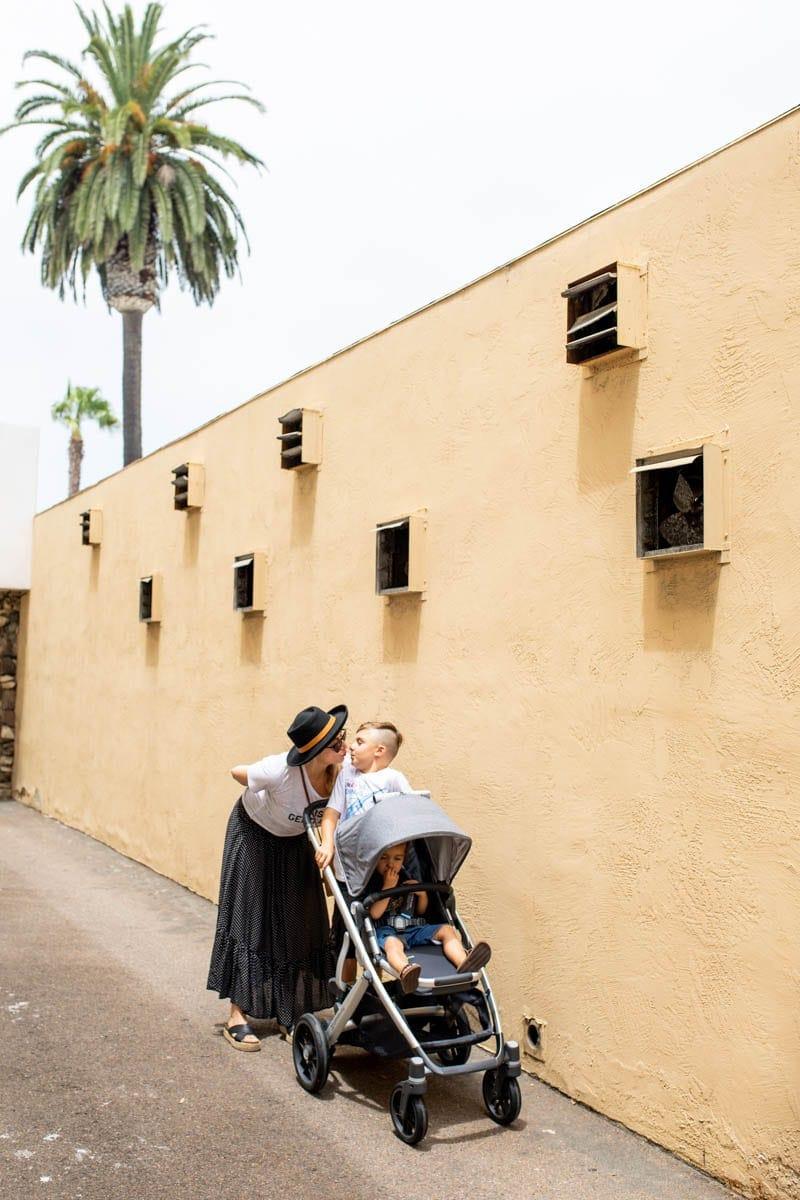 La Jolla Mom and Stroller