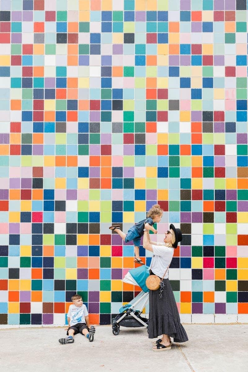 La Jolla Murals and UPPAbaby Minu