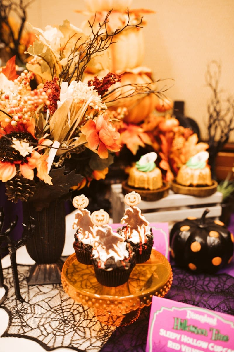 Desserts Halloween Time Disney Land