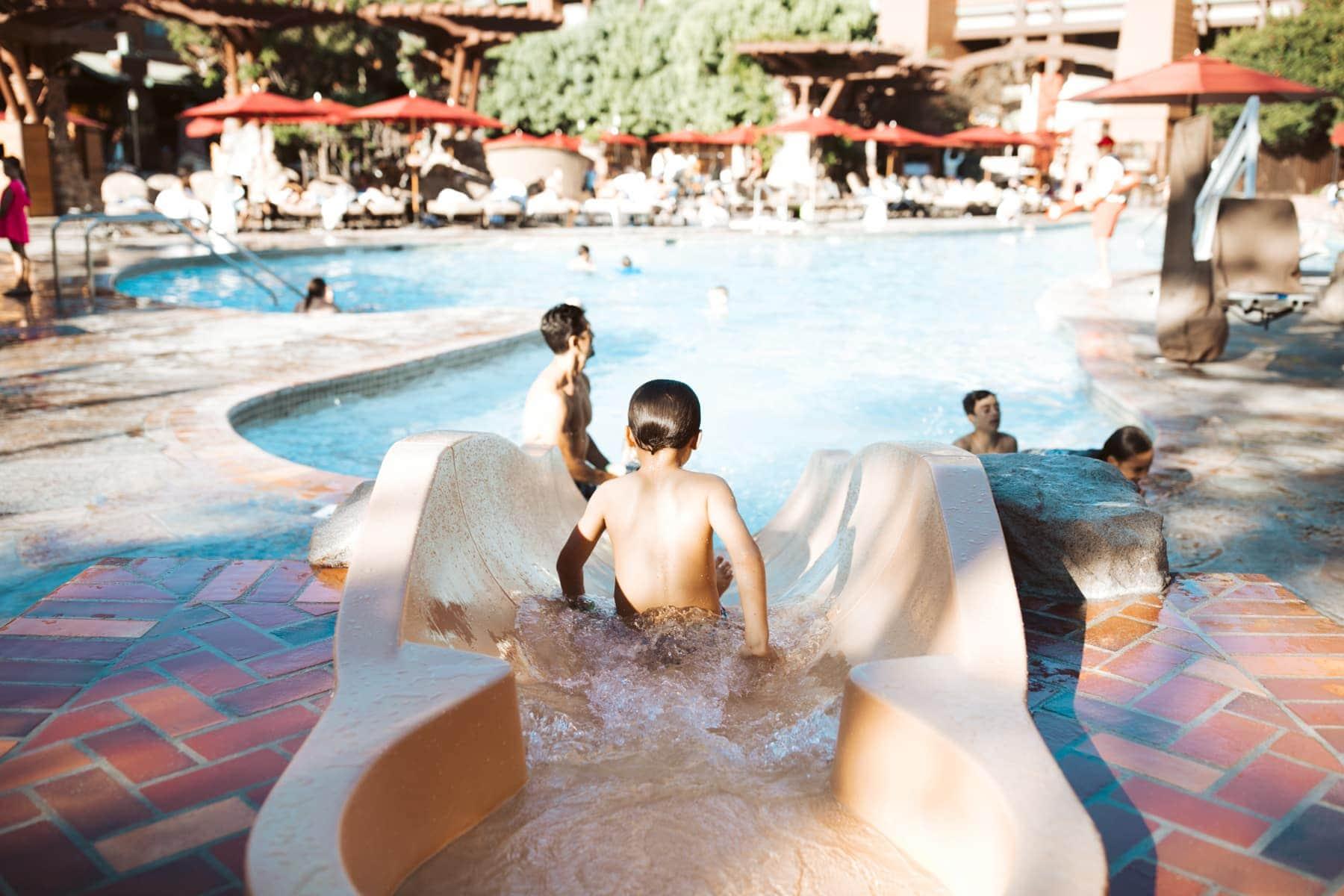 Disney Grand California Pool
