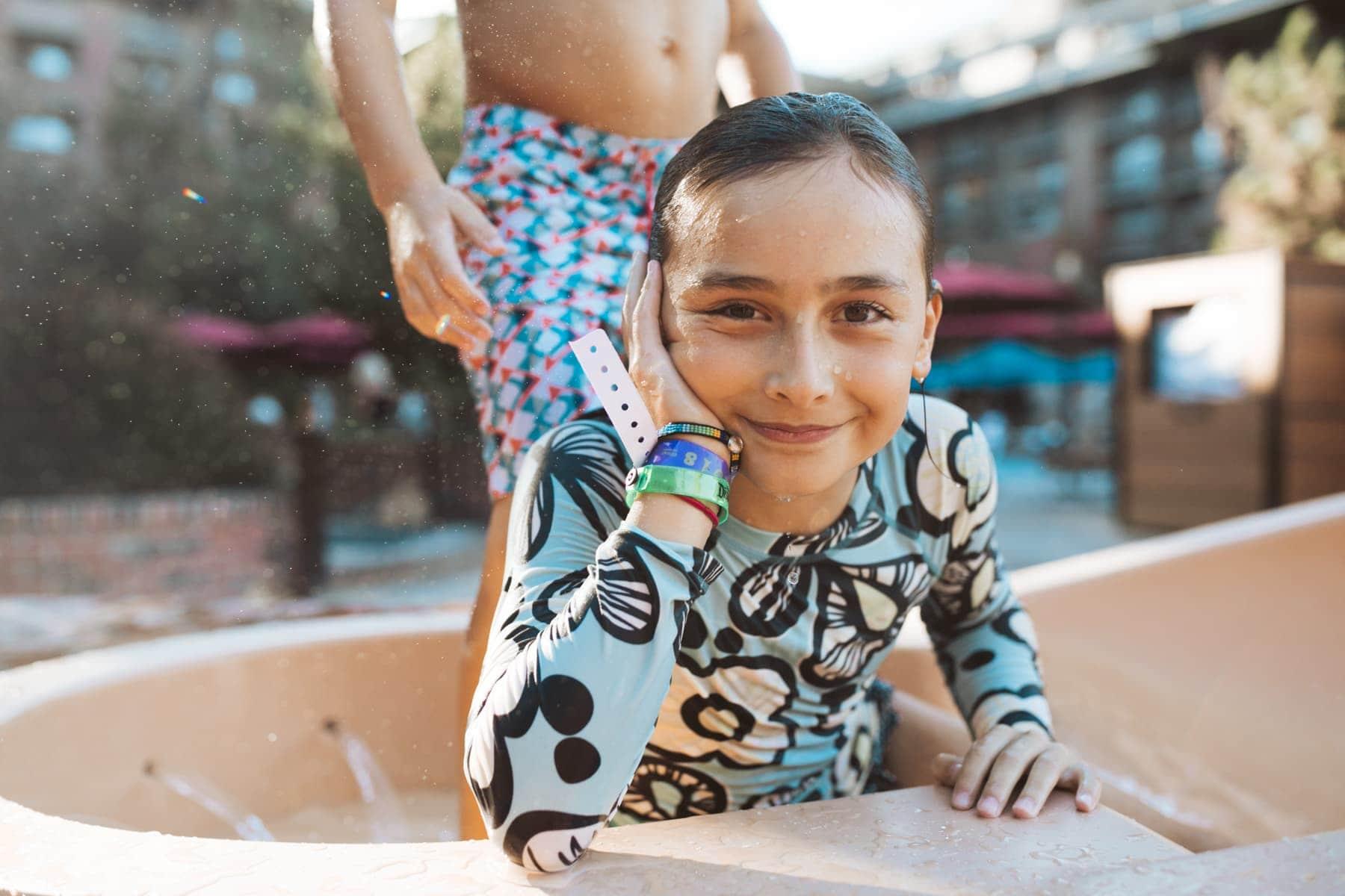 Disney Grand Californian Girl Swimming