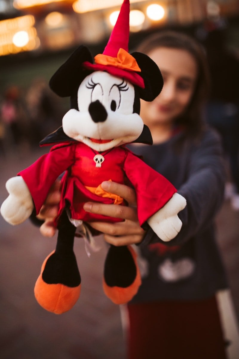 Disneyland Minnie Mouse Halloween Time