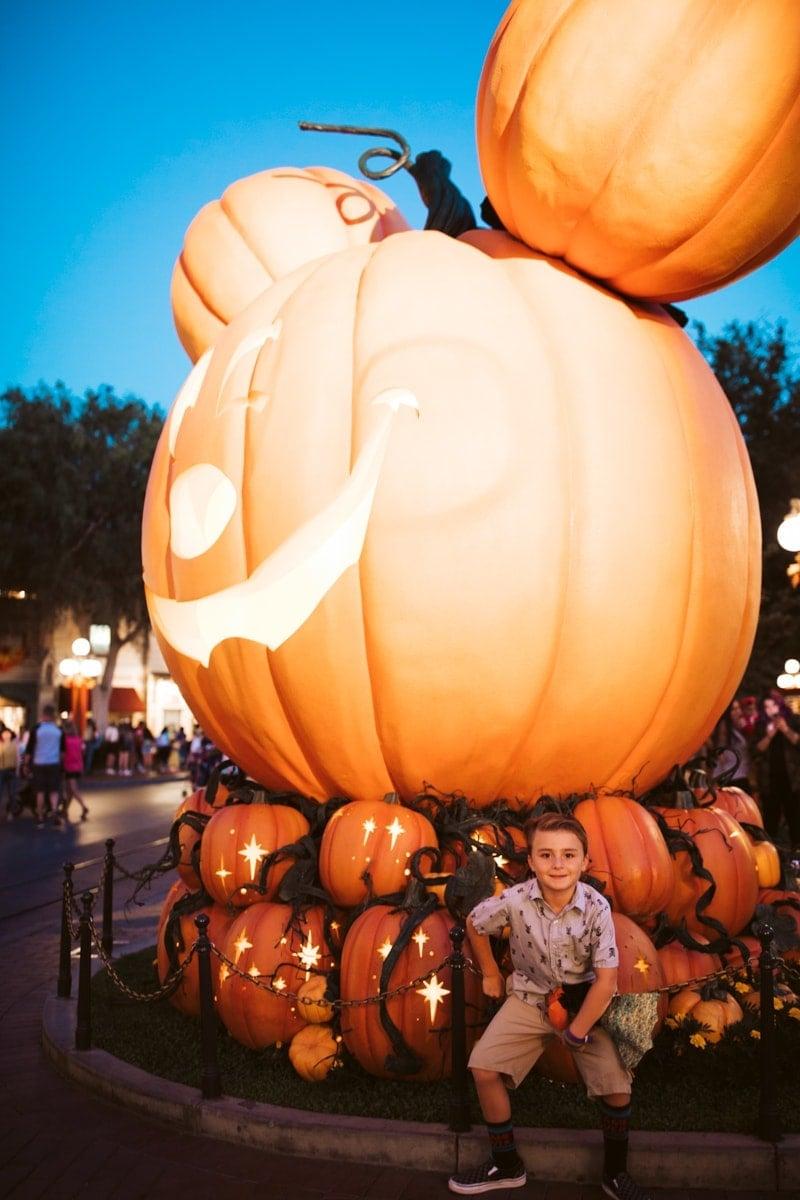 Pumkin at Disneyland