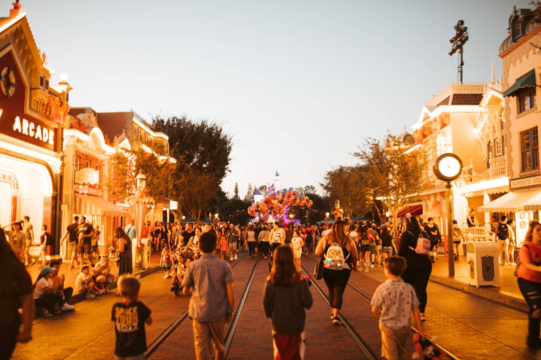 Main Street Halloweentime Disneyland