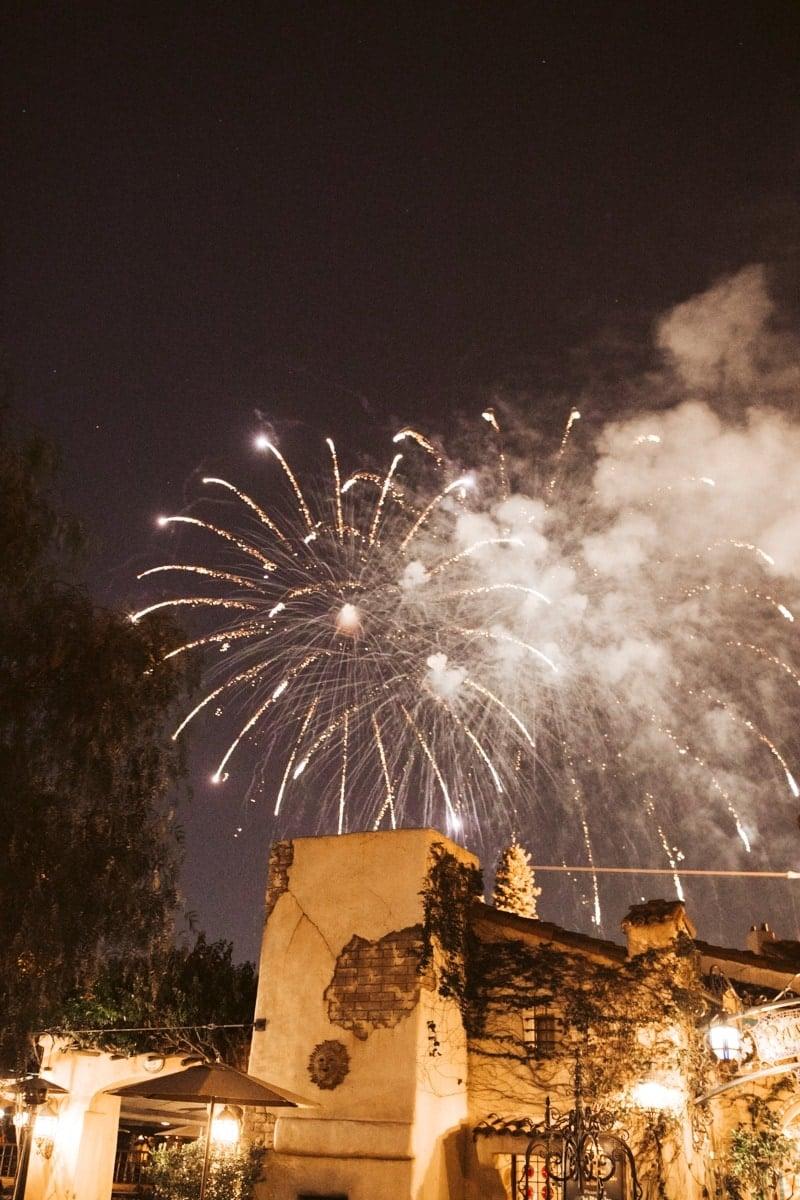 Fireworks Disneyland