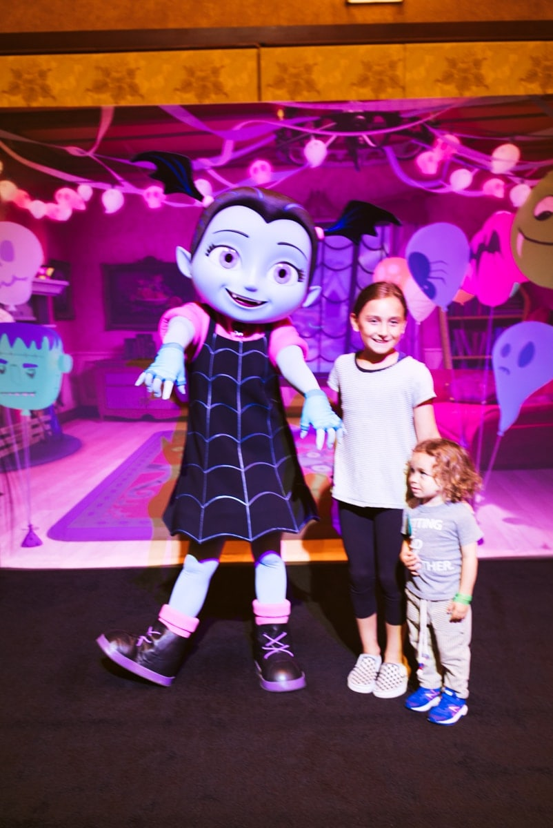 Vamporina Disneyland Halloween time