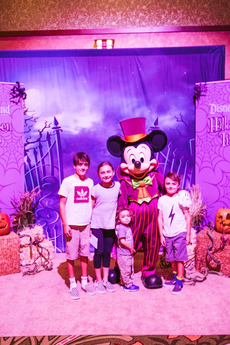 Halloween Time Mickey Mouse