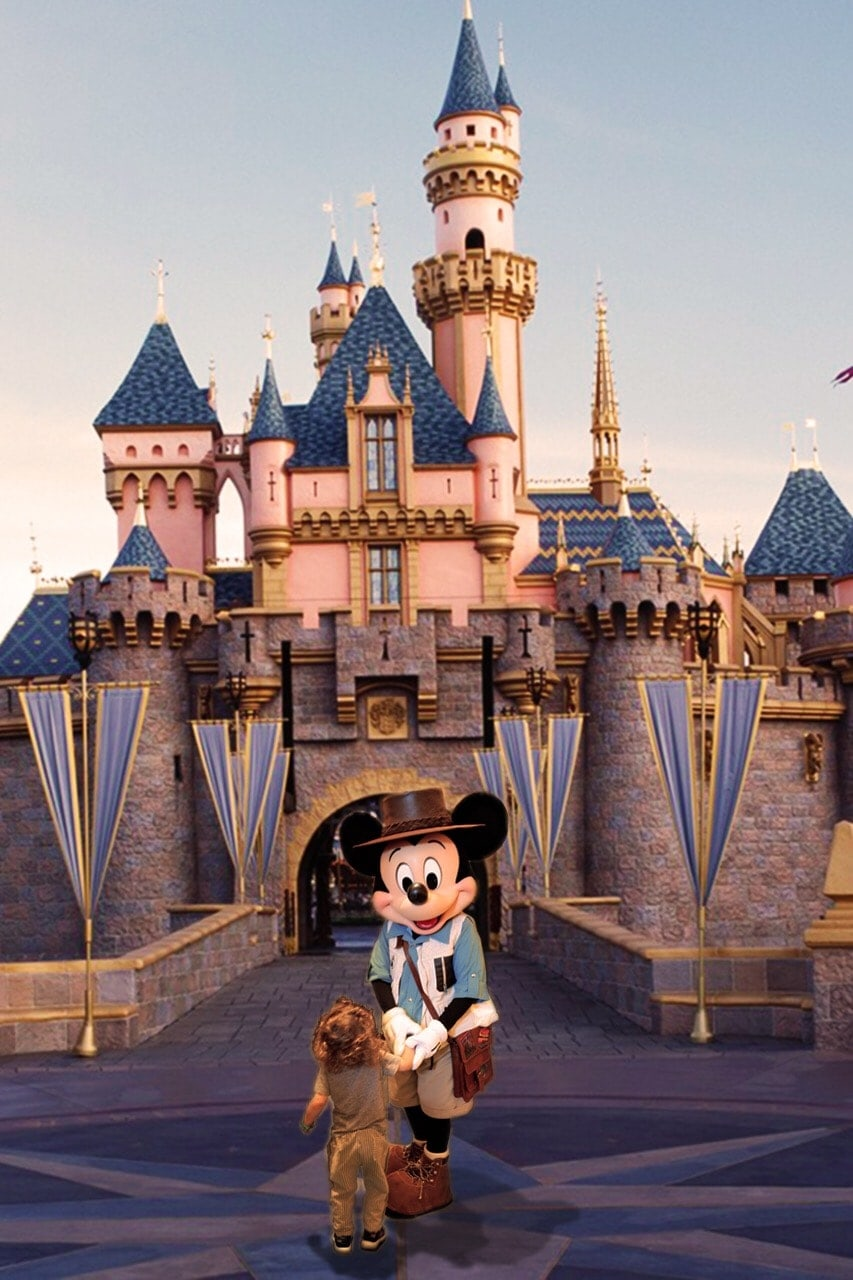 disneyland and MIckey mouse