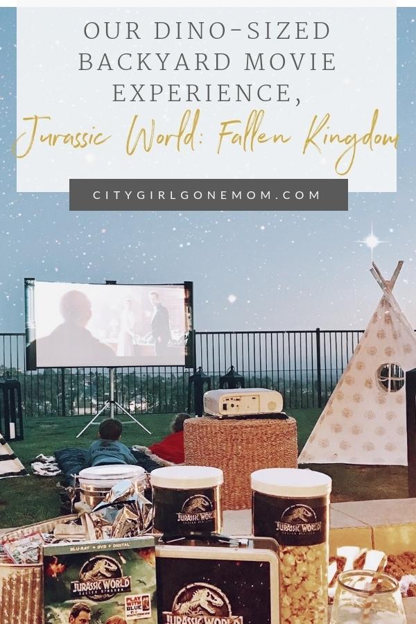 jurassic world movie night