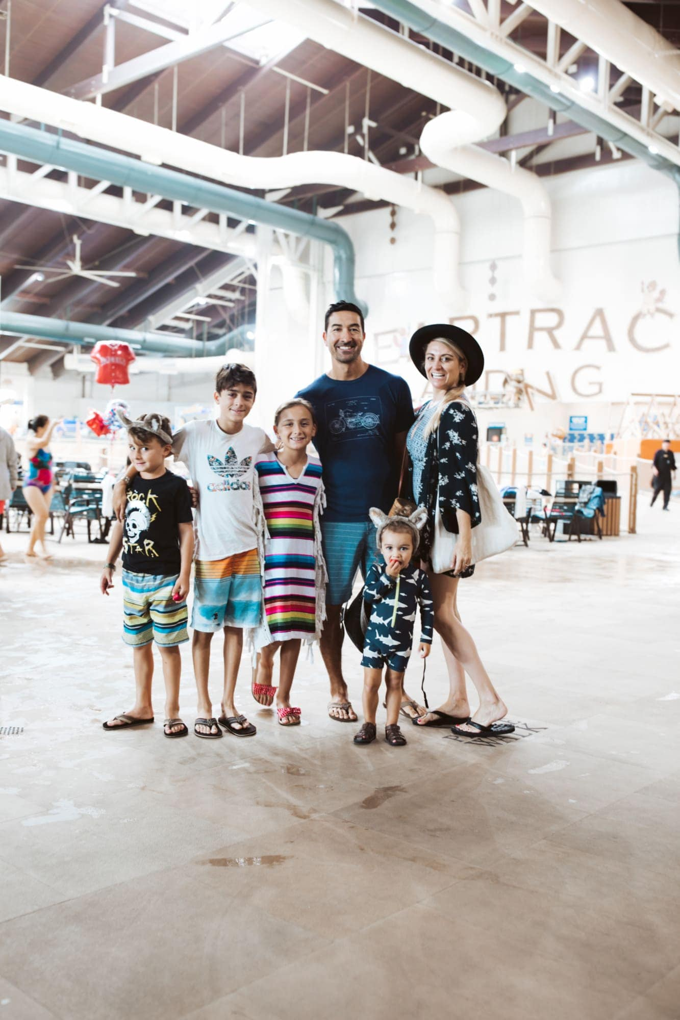 family at great wolf lodge