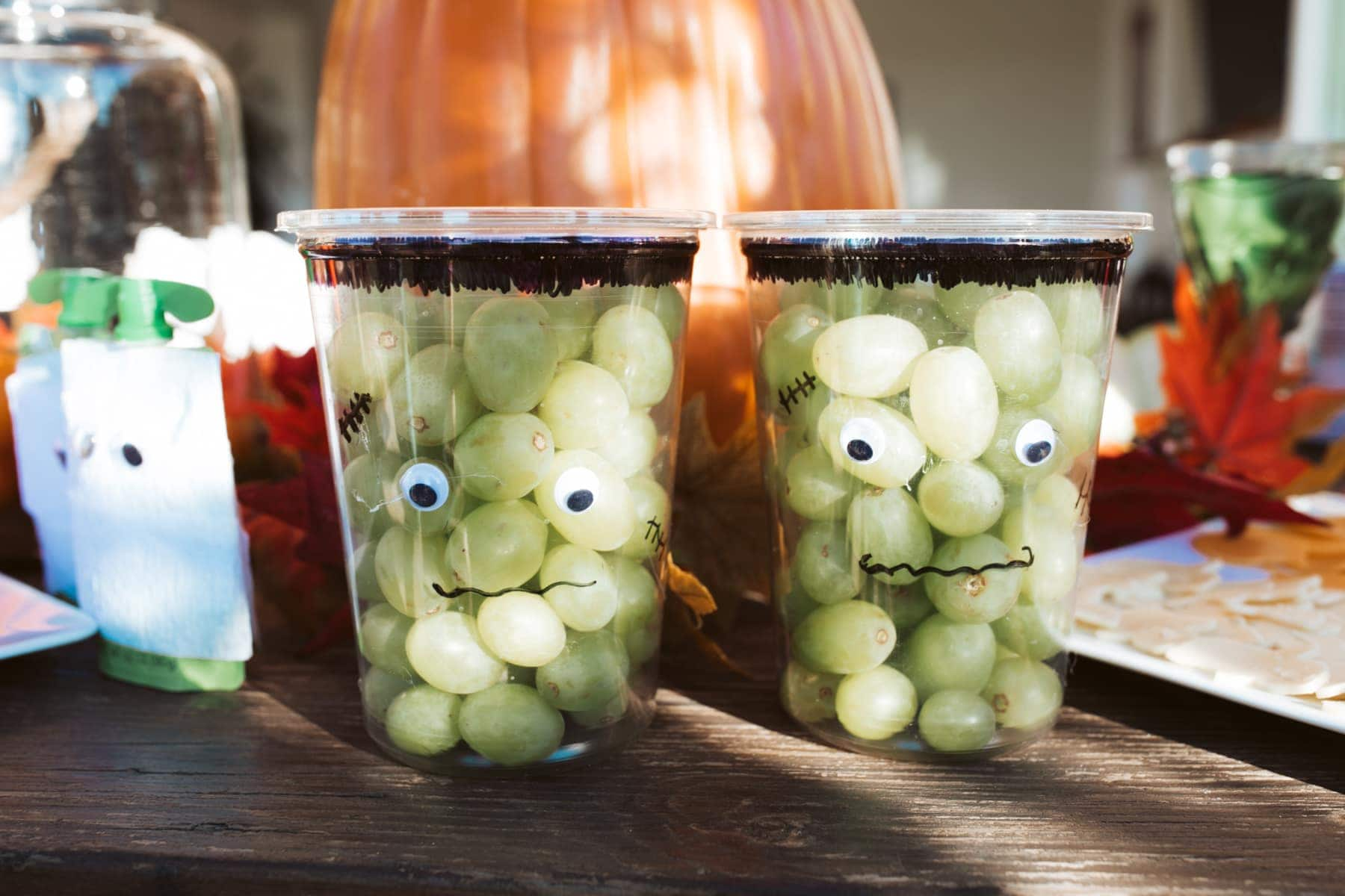 grapes for halloween