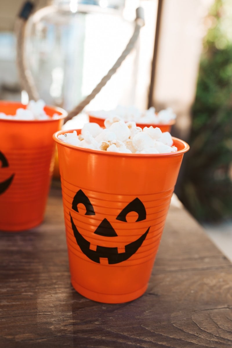 popcorn cups for halloween