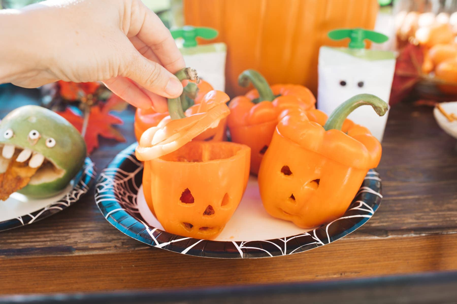 pumpkin style peppers