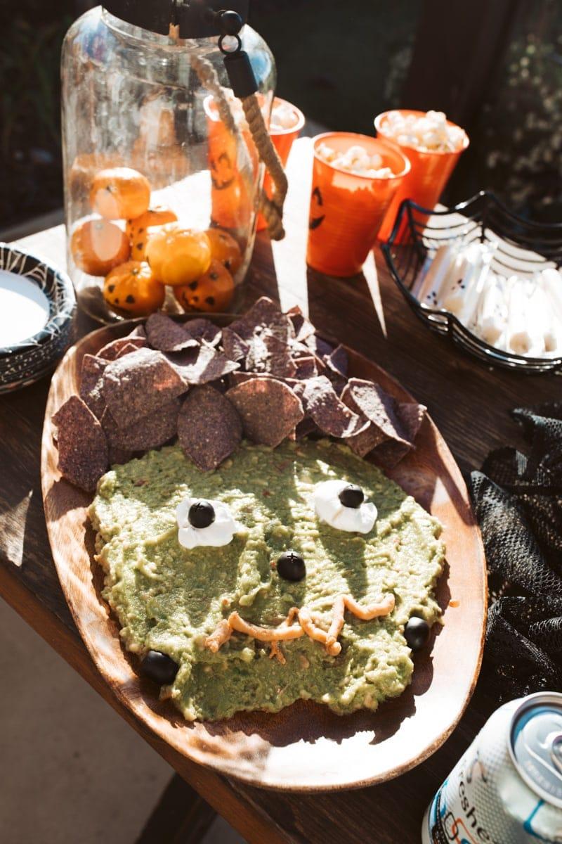 Halloween Guacamole