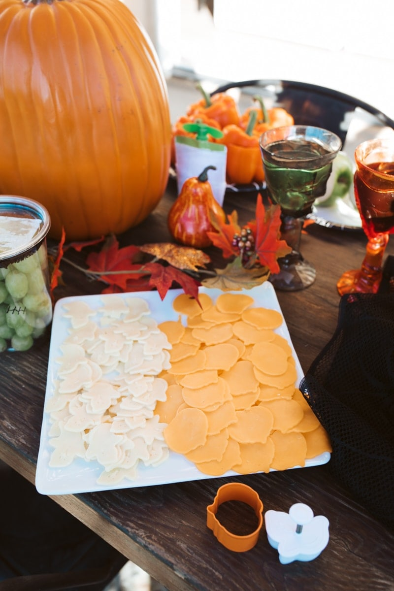 halloween cheese cut outs