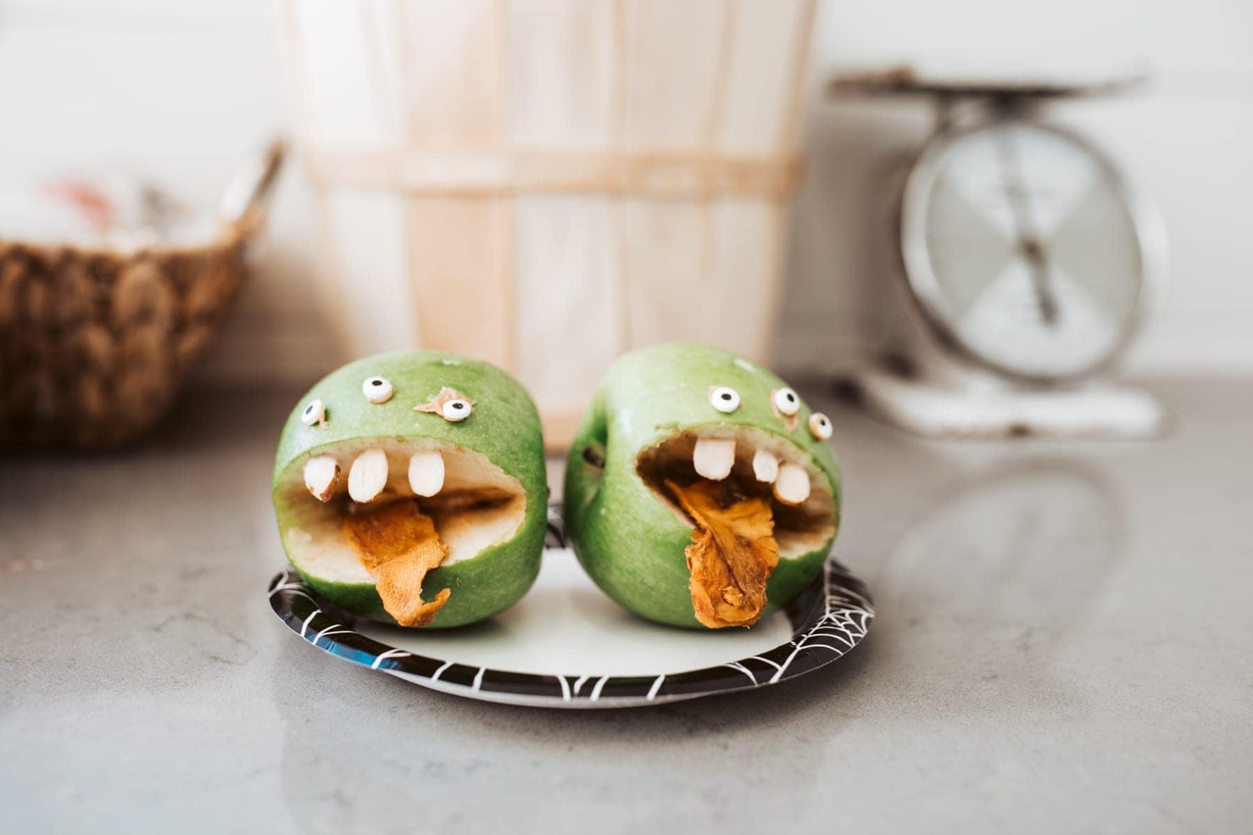 DIY halloween Apples
