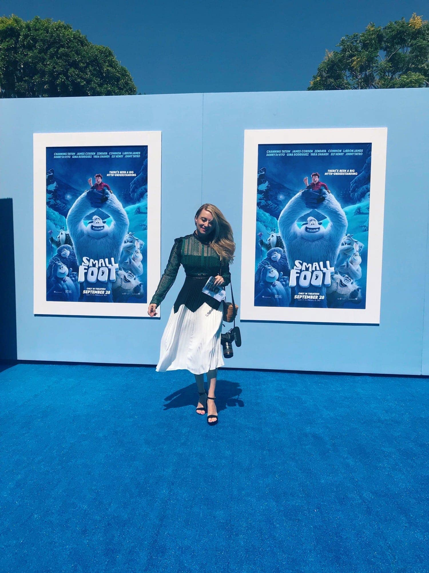 City Girl Gone Mom at Smallfoot premiere