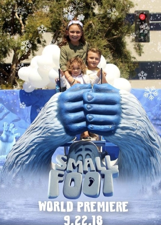 Smallfoot premiere Party