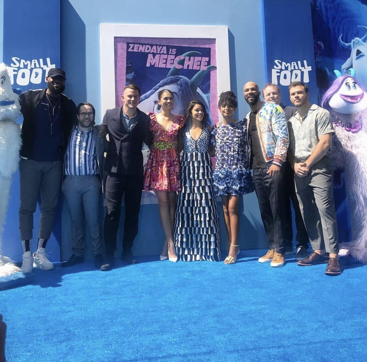 cast of Smallfoot