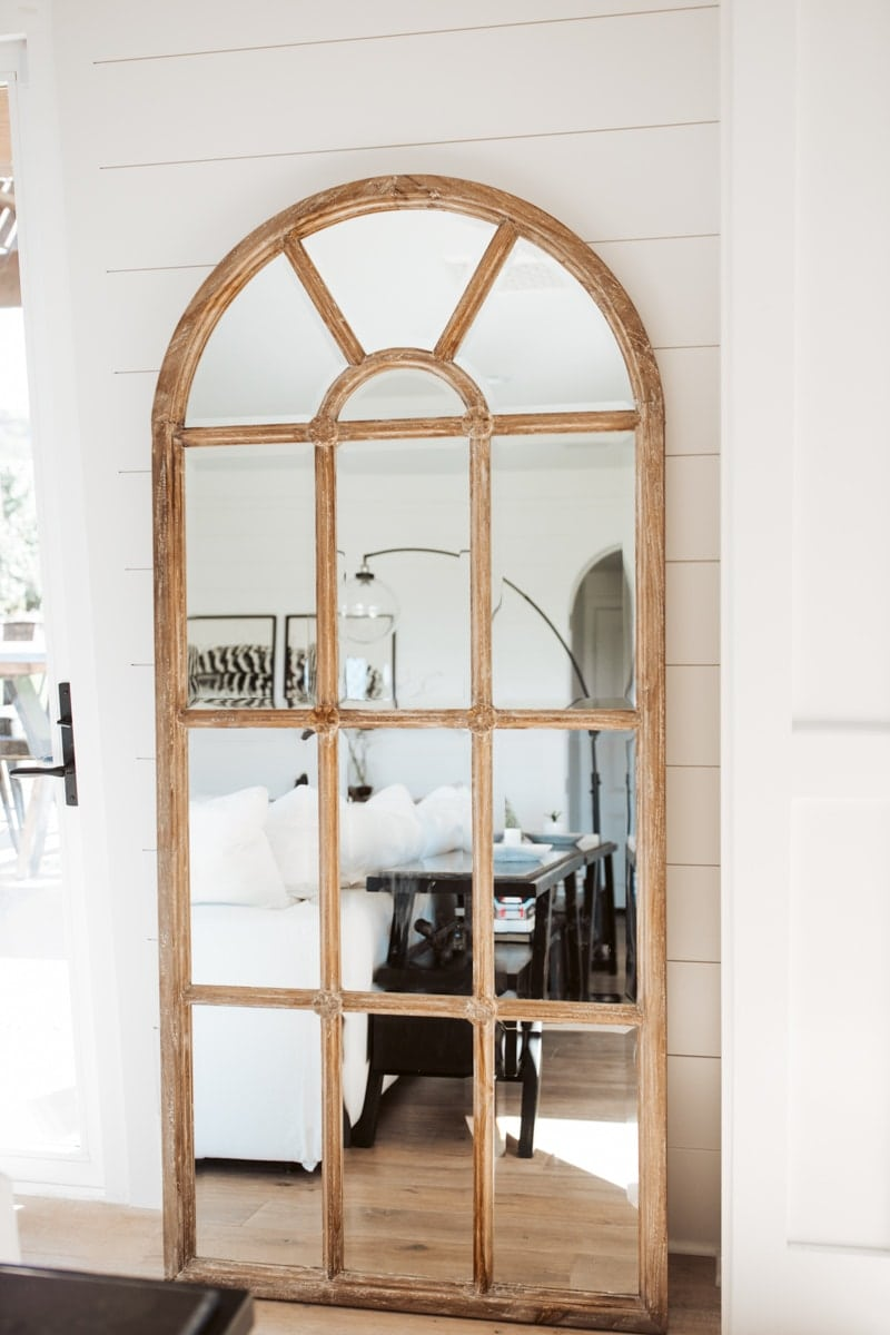 farmhouse mirror decor