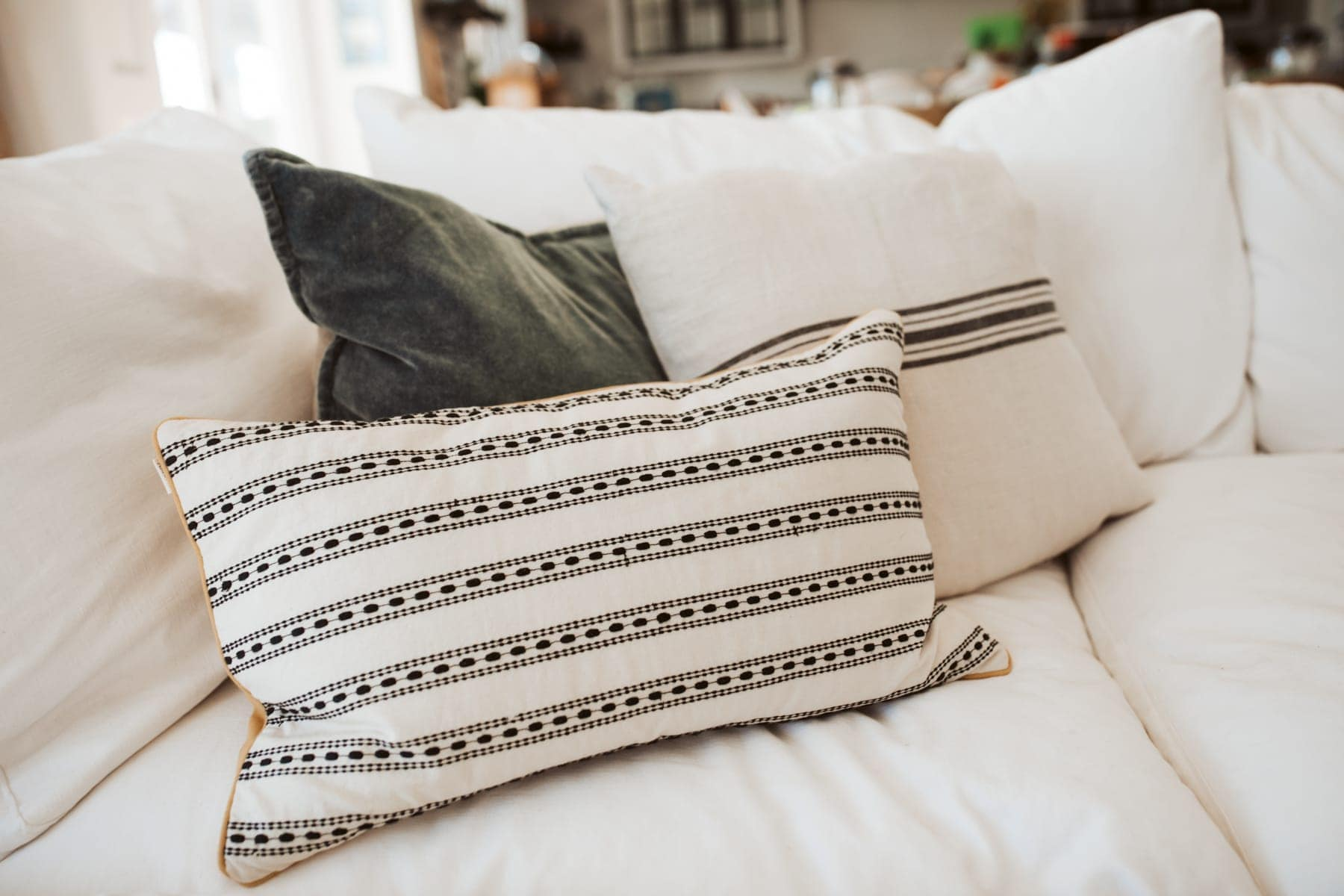 arhaus pillows
