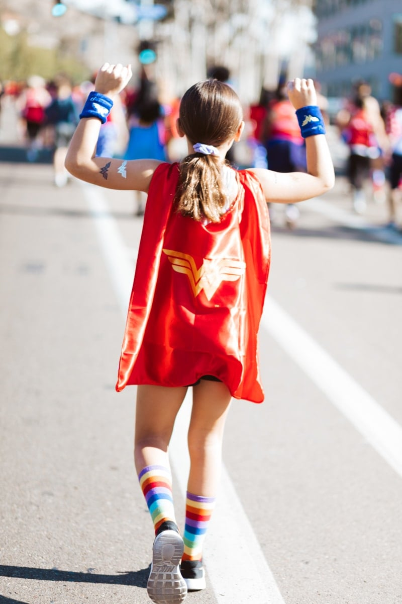 wonder woman race