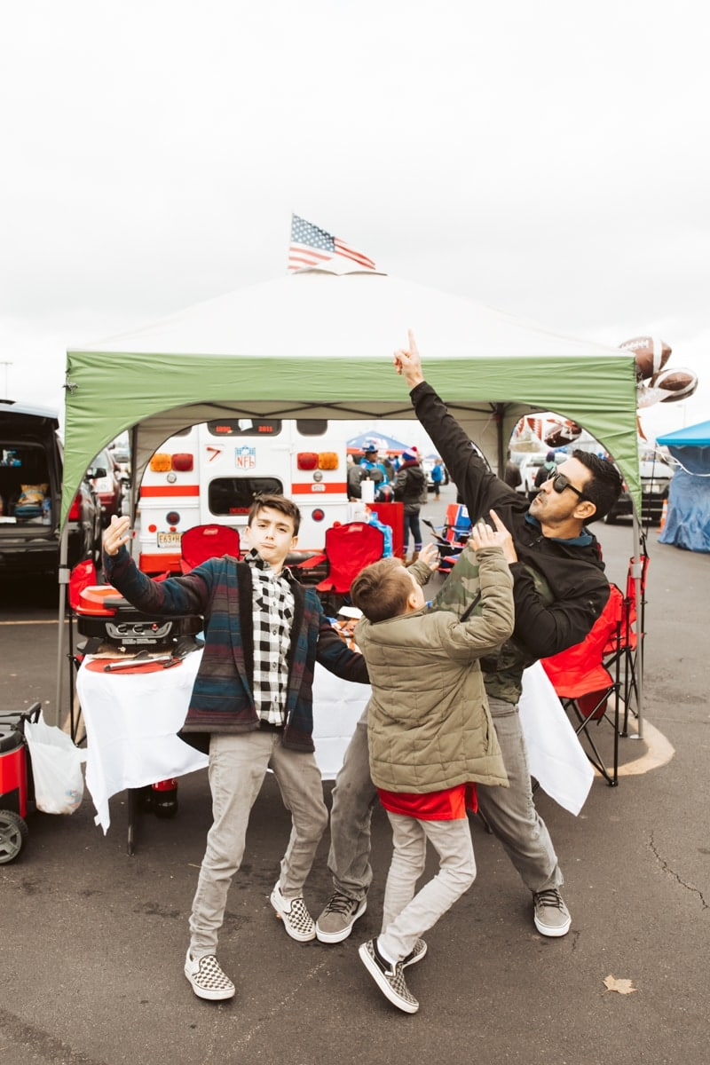 Tailgating Party Football Game