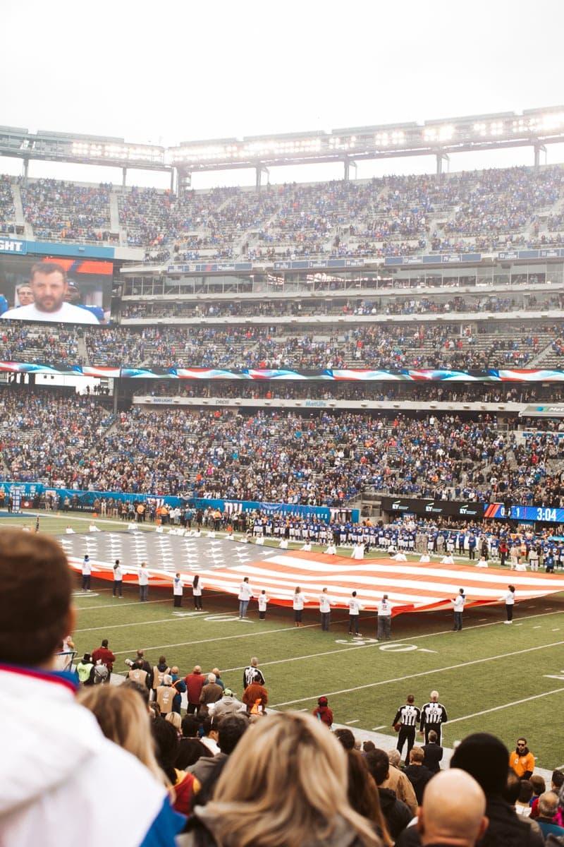 Giants Game NYC