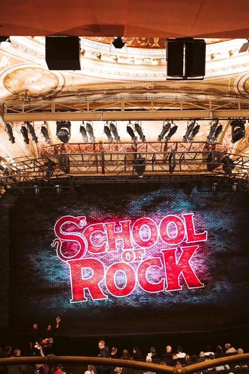 broadway school of rock title