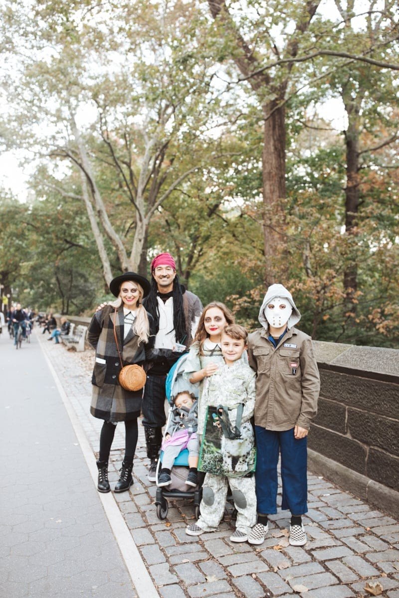 Upper West Side Halloween Family