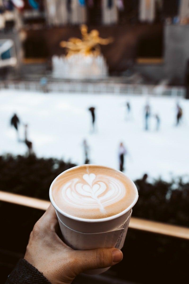 Ralphs Coffee Rockefeller Ice Skating Rink