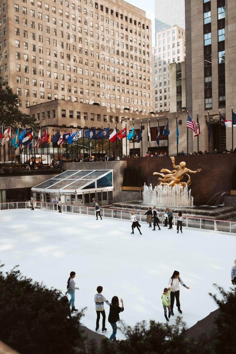 Rockefeller Center Ice Skating NYC