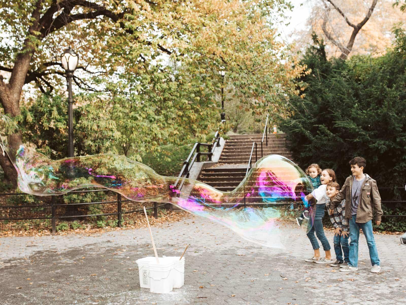 Bubbles at Central Park