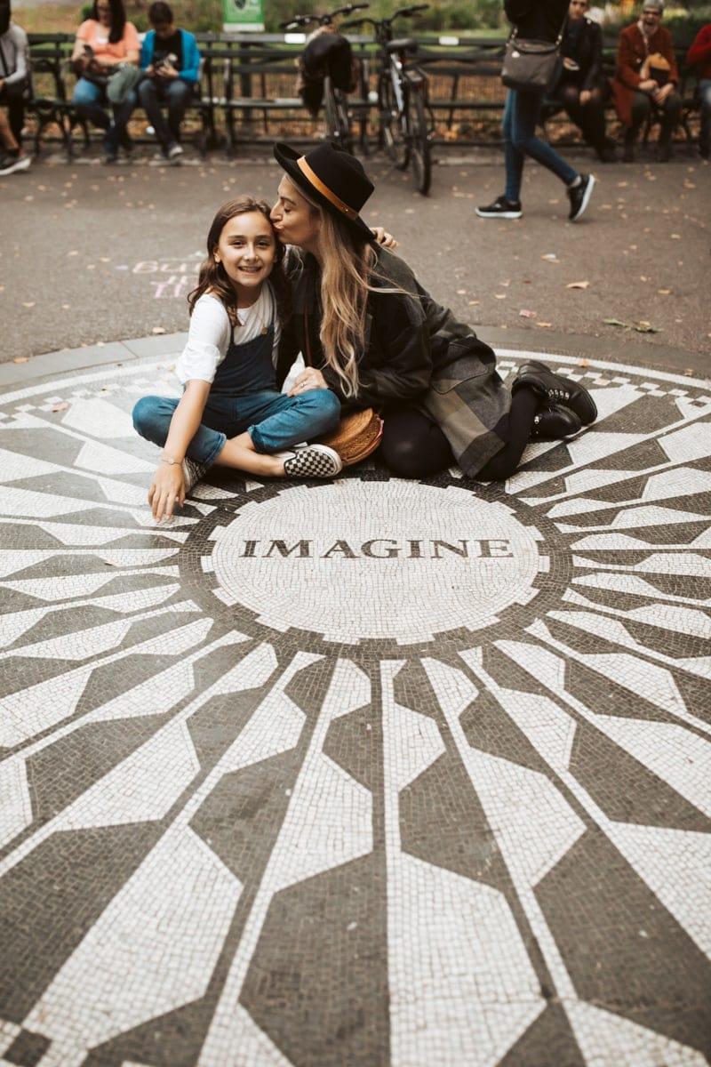 Imagine at Central Park