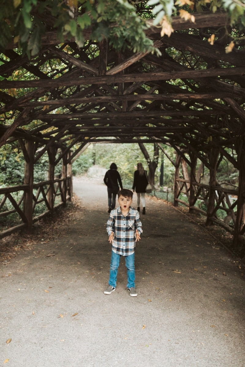 Boy In Central Park