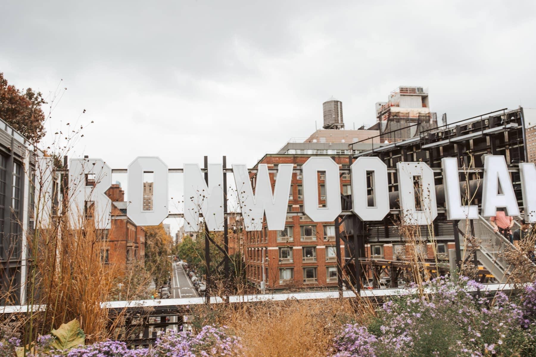 ironwoodland sign