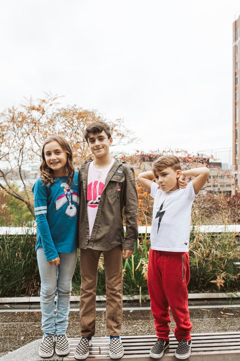 Kids at The High Line