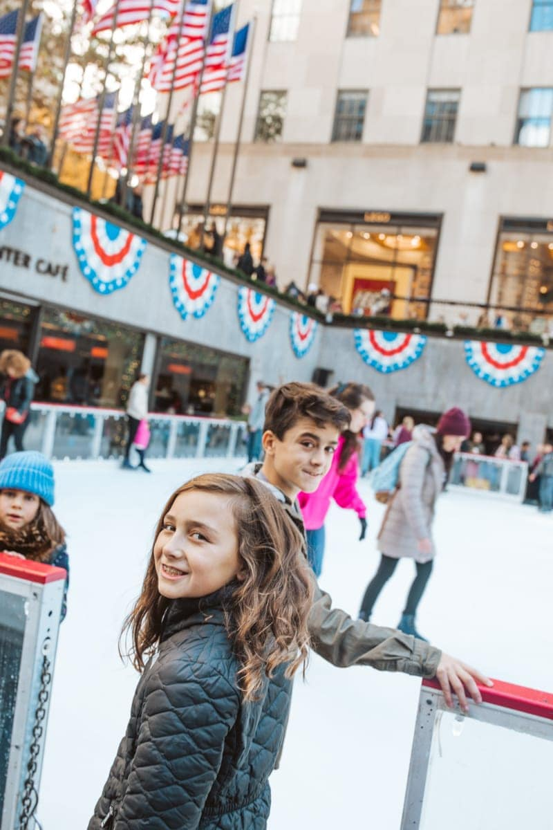 Rockefeller Ice Skating NYC
