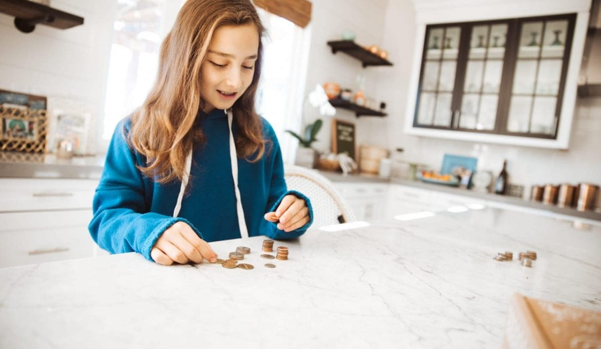 New Year's Resolutions with Kids: The 52 Week Money Saving Challenge