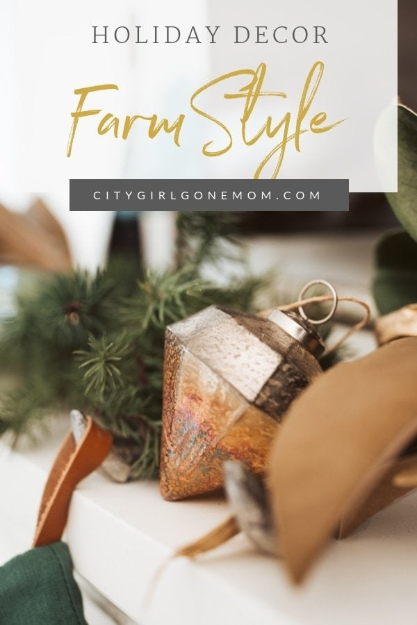 farmhouse style christmas