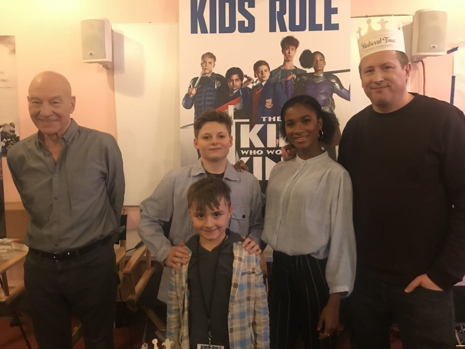 cast of the kid who would be king