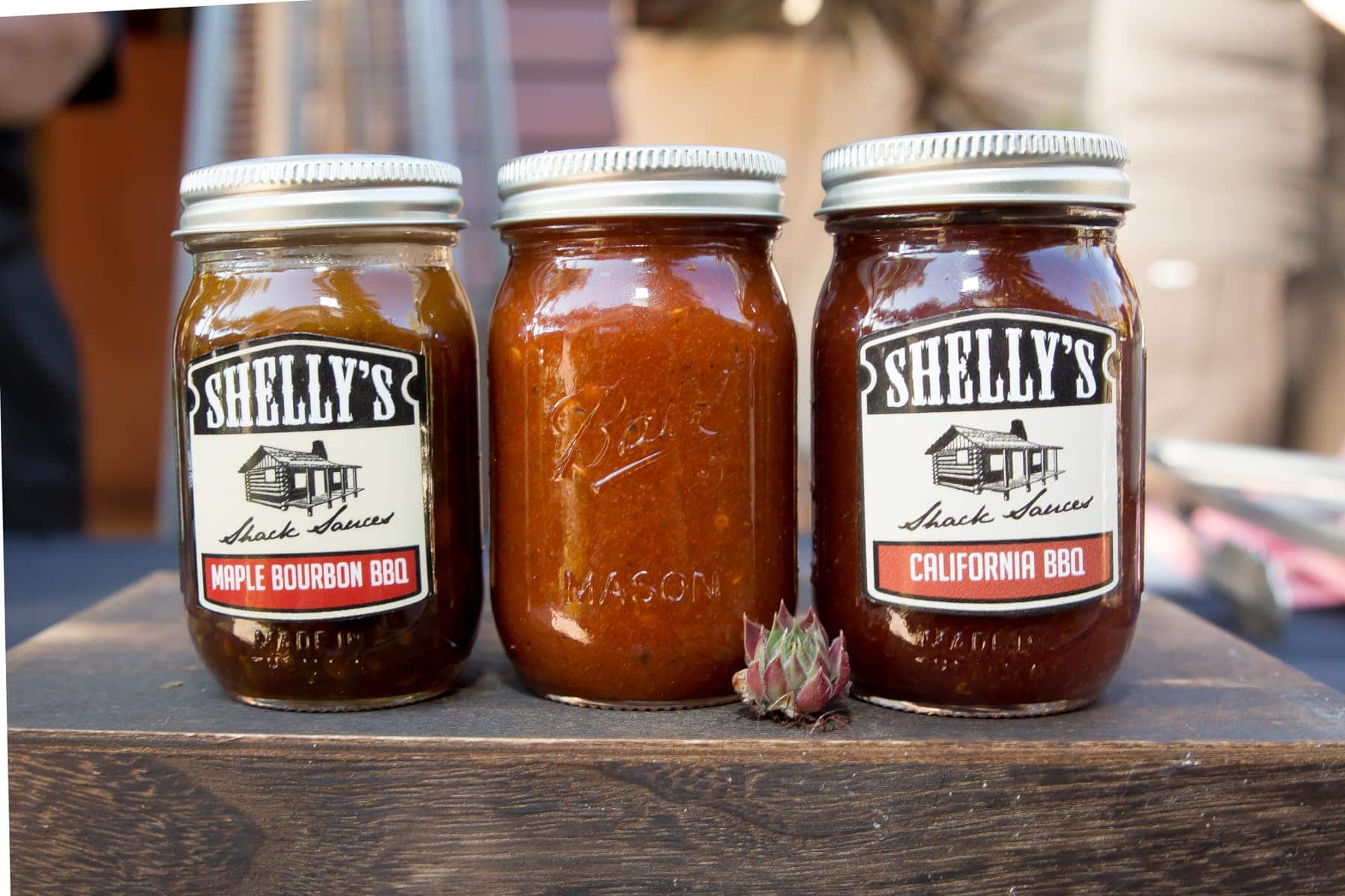sauce in jars
