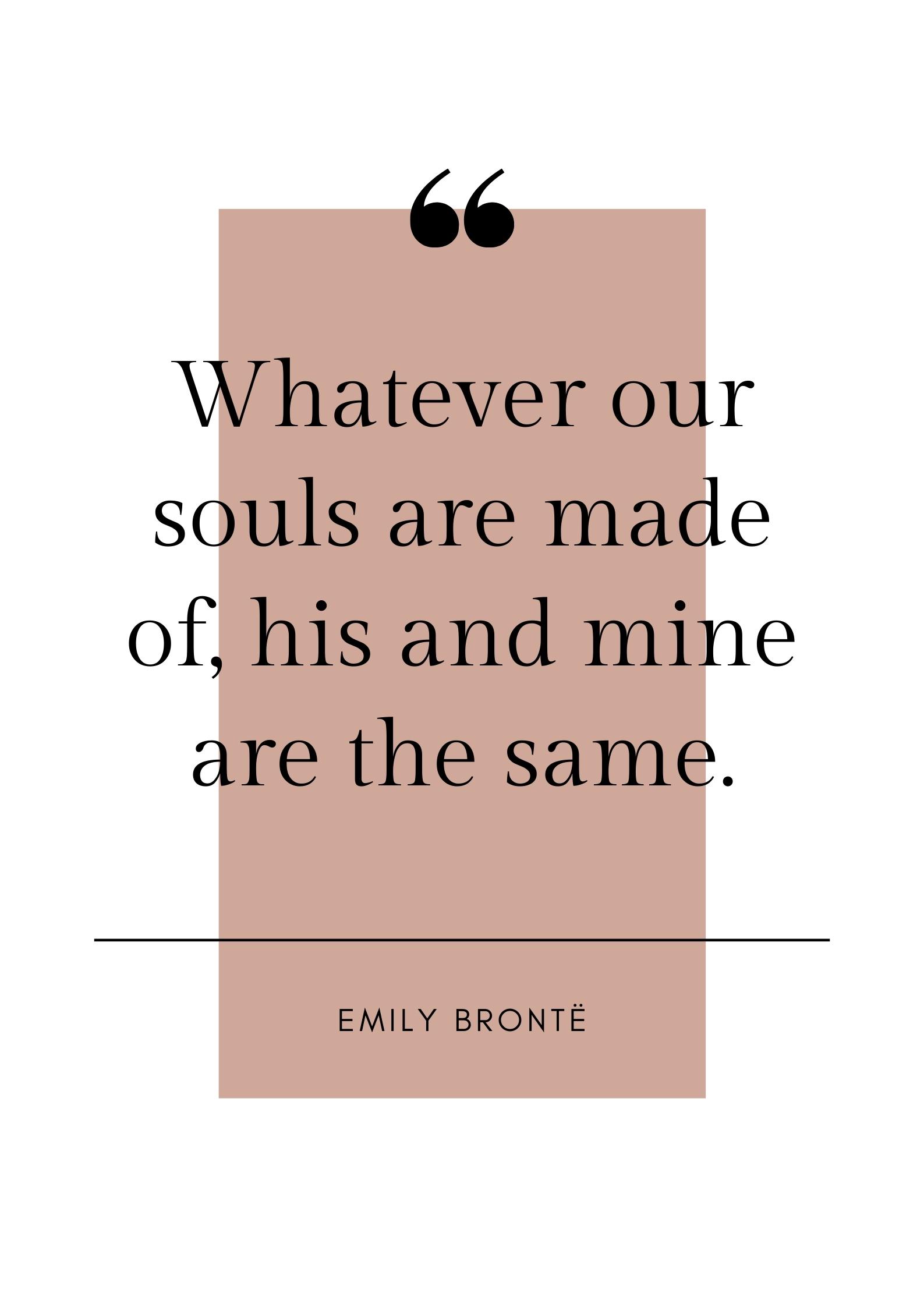 emily bronte quote